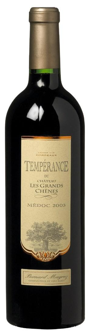 <span>Château Les Grands Chênes</span> La Temperance des Grands Chenes 2003